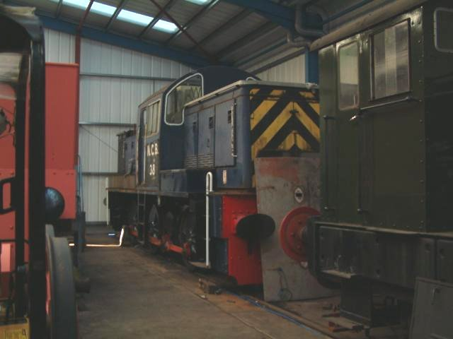 Embsay and Bolton Abbey Steam Railway - Loco Profile - NCB