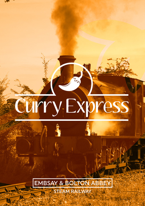 The Curry Express - Steam Train through the Yorkshire Dales!