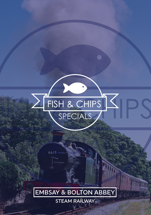 Fish & Chip Specials on a Steam Train through the Yorkshire Dales!