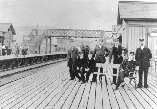 The original Bolton Abbey Platform 2