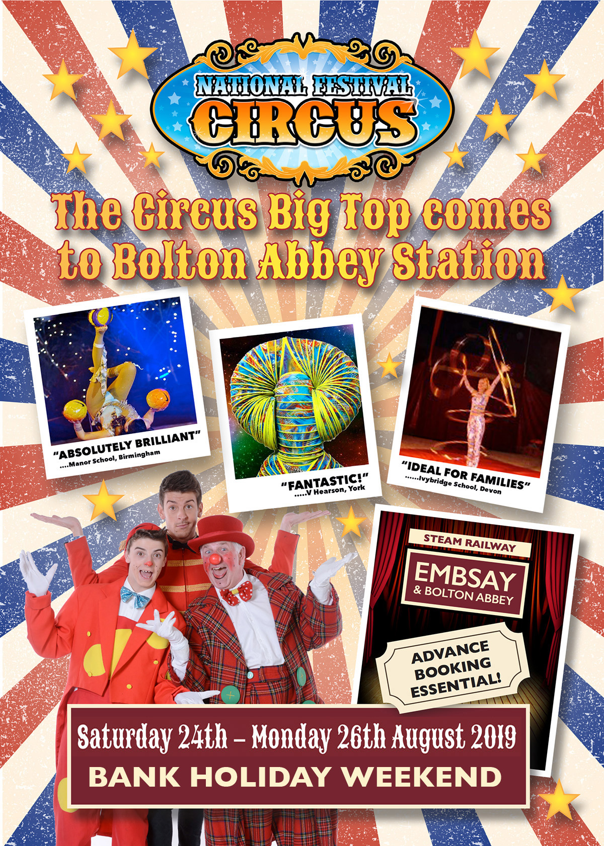 National Festival Circus Comes To Bolton Abbey!